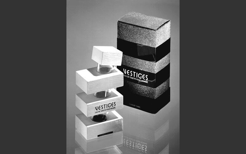 Vestiges - prototype flacon de parfum
